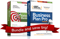 Business Plan Pro Premier and Sales and Marketing Pro together