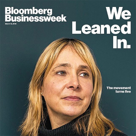 Bloomberg Businessweek cover of Sabrina Parsons